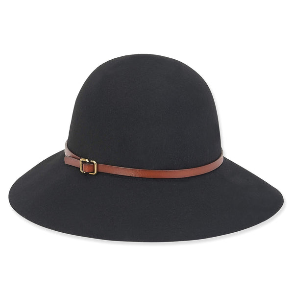 Adora Kary Wool Felt Wide Brim Women's Sun Hat | Chapel Hats