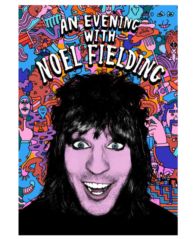 An Evening With Noel Fielding Tour Programme