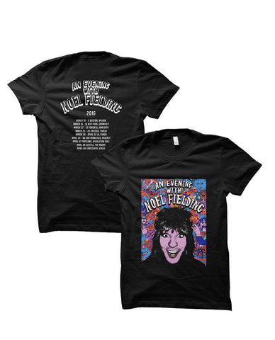 An Evening With Noel 2016 US Tour Junior Black T-Shirt