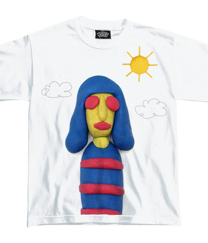Luxury Comedy (Kids Joey Ramone) White T-Shirt