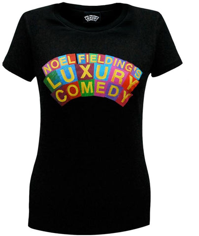 Luxury Comedy (Logo) Black T-Shirt