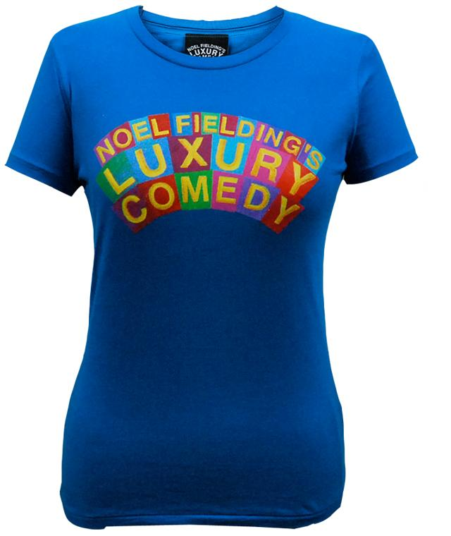 Luxury Comedy (Logo) Electric Blue T-Shirt