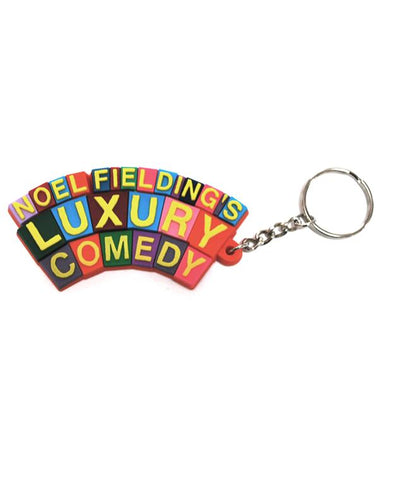 Luxury Comedy (Logo) Keyring
