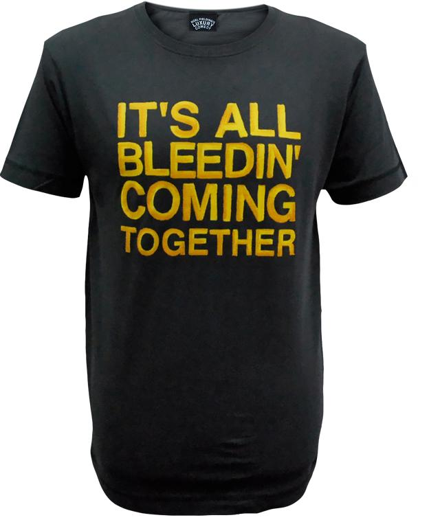Luxury Comedy (It's All Bleeding Coming Together) Charcoal T-Shirt