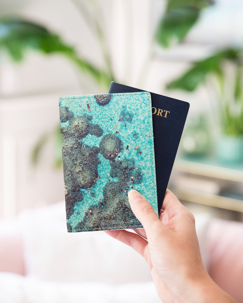 Reef Passport Case by Gray Malin