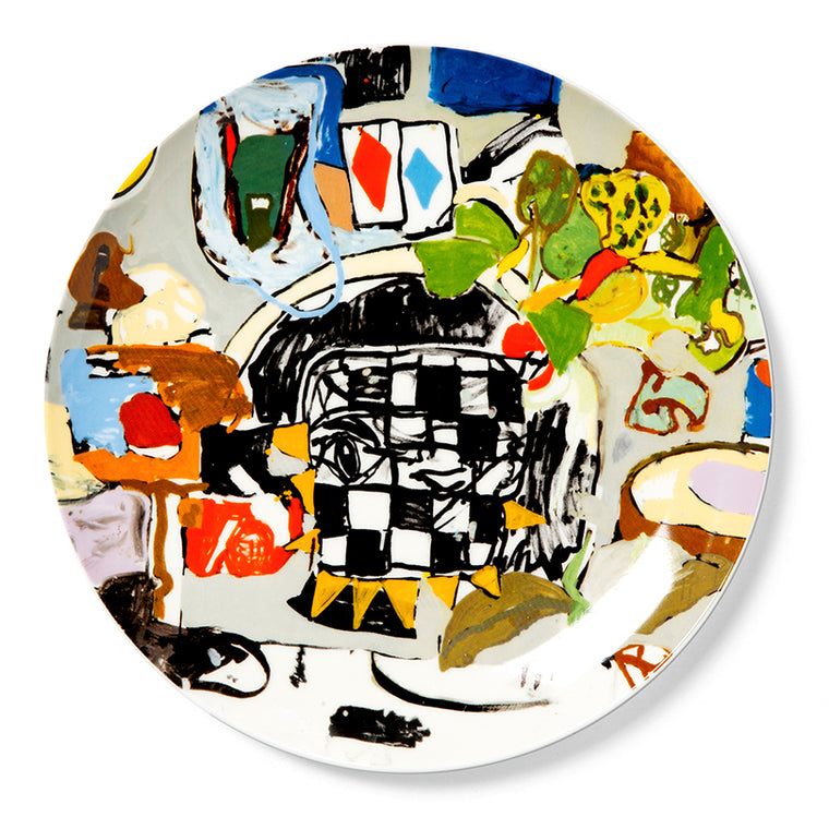 Plate by Eddie Martinez