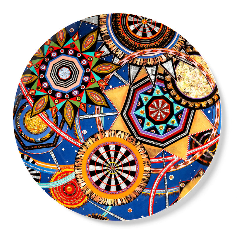 Plate by Fred Tomaselli