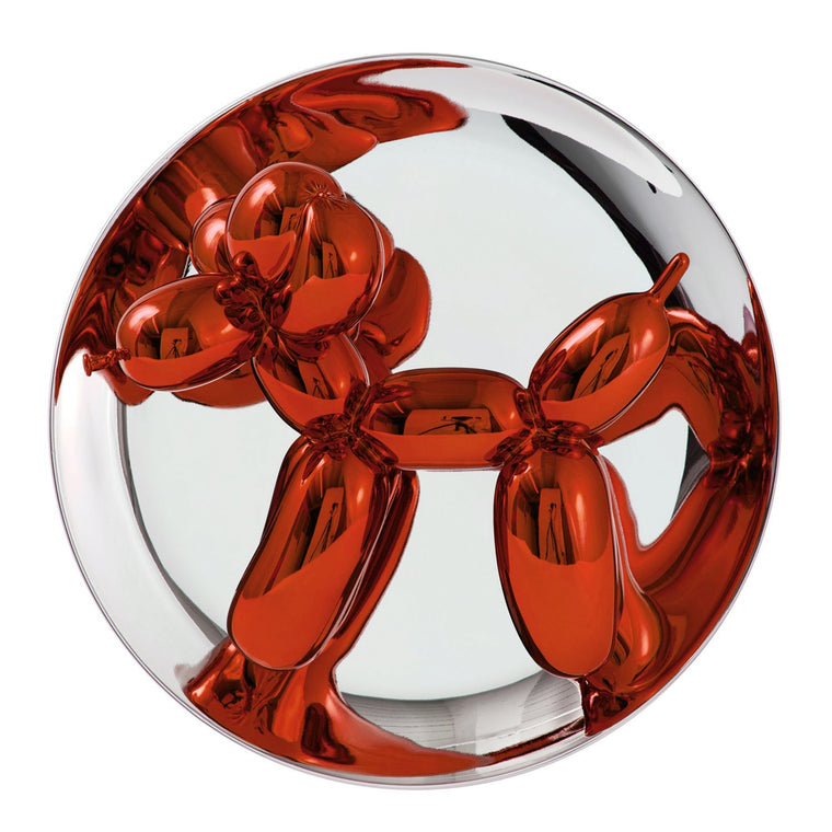 Balloon Dog (Orange) by Jeff Koons