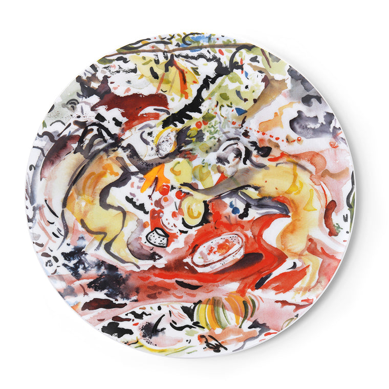 Plate by Cecily Brown
