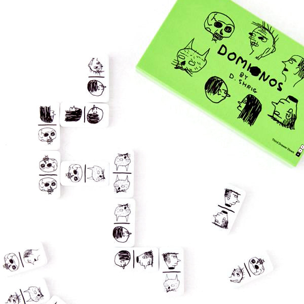 Domino Set by David Shrigley