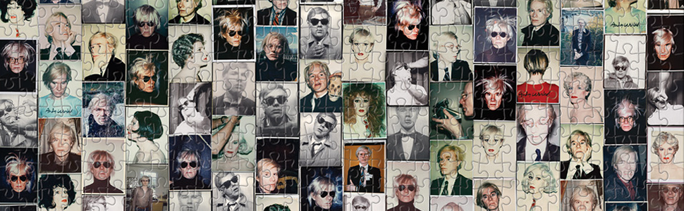 Selfies Puzzle by Andy Warhol