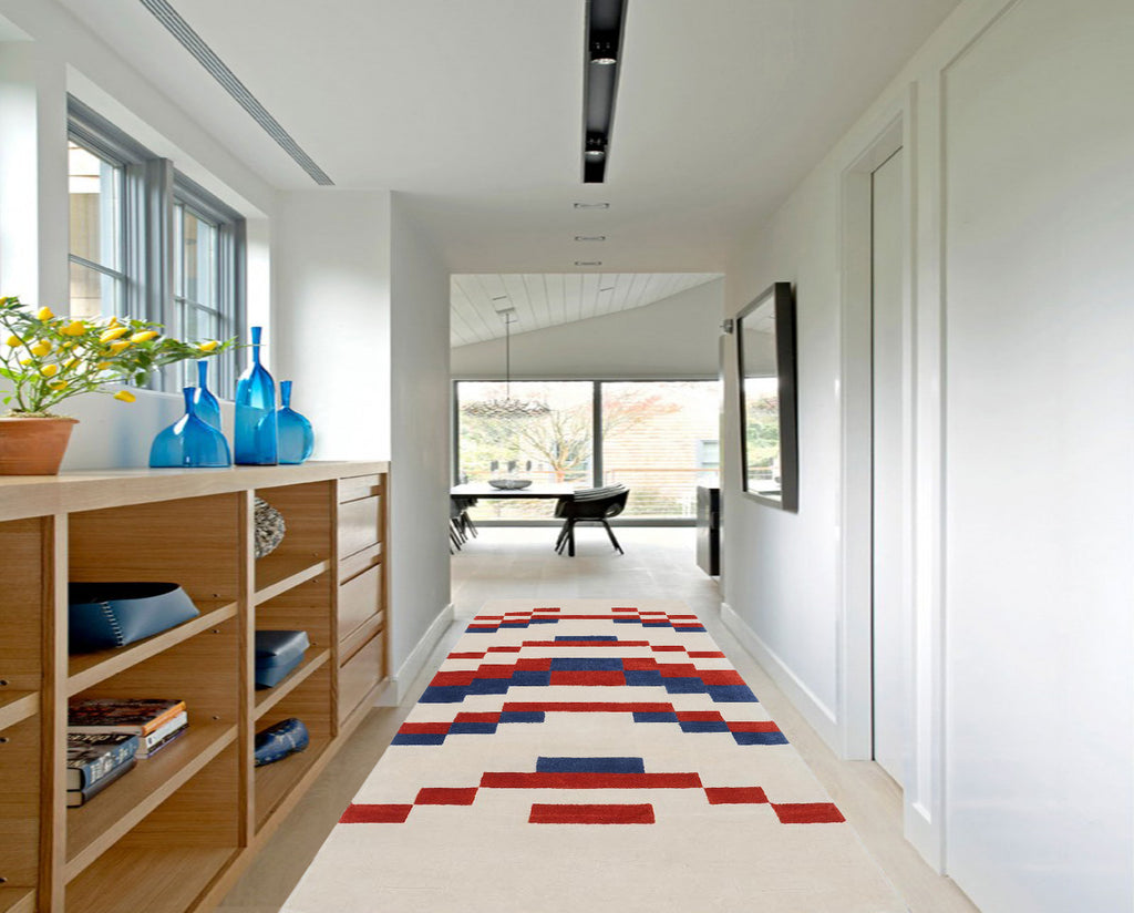 Temple Berry Rug by Anni Albers