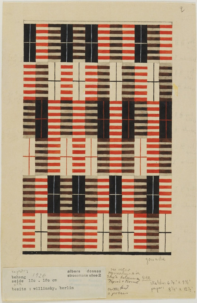 Untitled Rug by Anni Albers