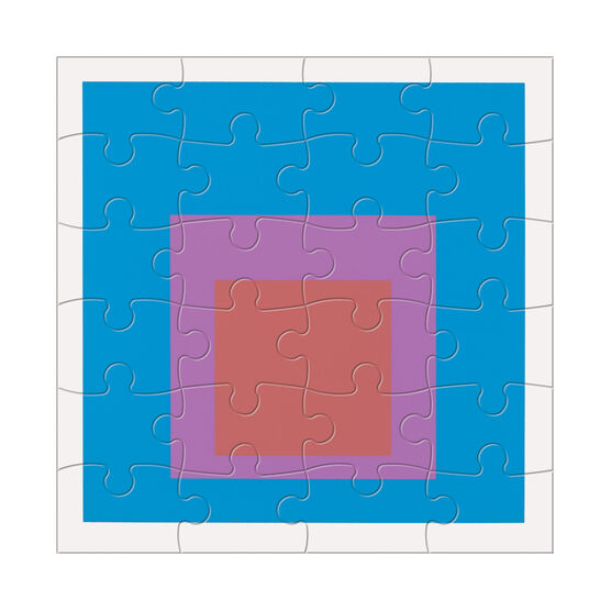 Wood Puzzle Set by Josef Albers