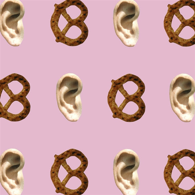 Ear/Pretzel Wallpaper by John Baldessari