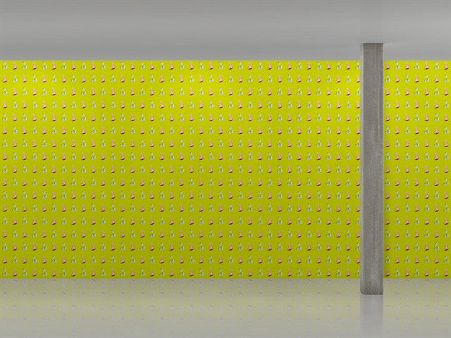 Nose/Popcorn Wallpaper by John Baldessari