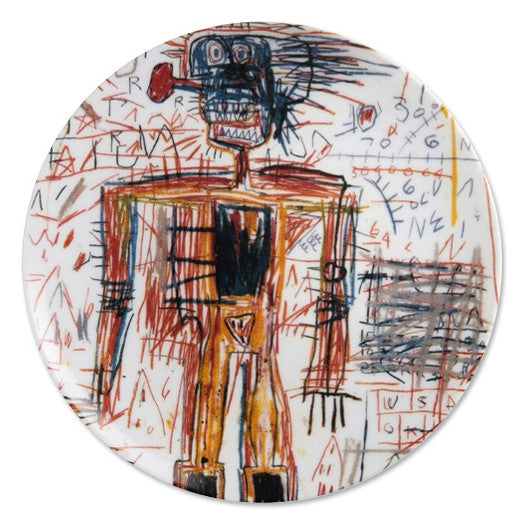 Plate (Untitled #3) by Jean-Michel Basquiat