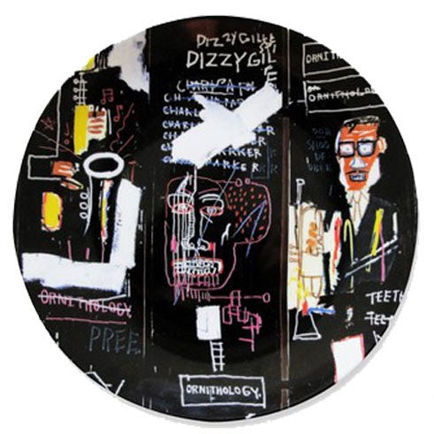 Plate (Horn Players) by Jean-Michel Basquiat