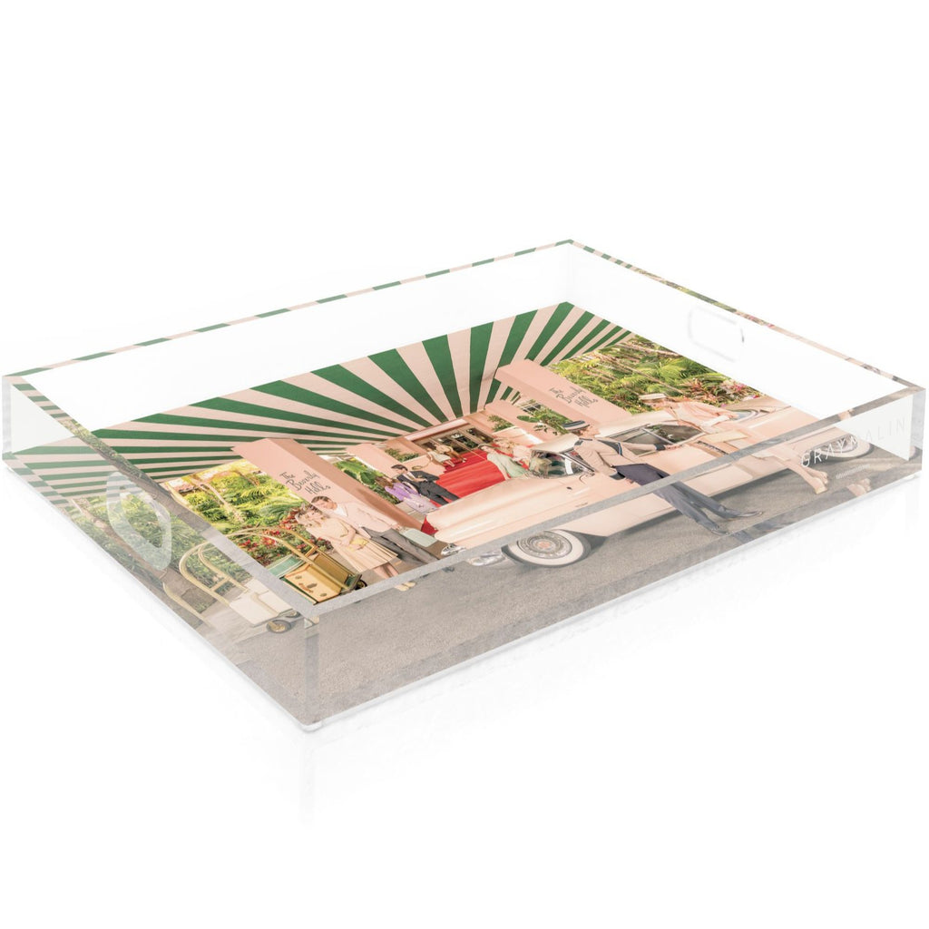 The Beverly Hills Hotel Tray by Gray Malin