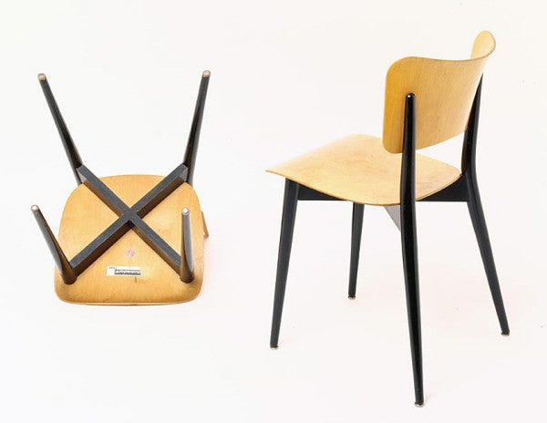 Cross Frame Chair by Max Bill