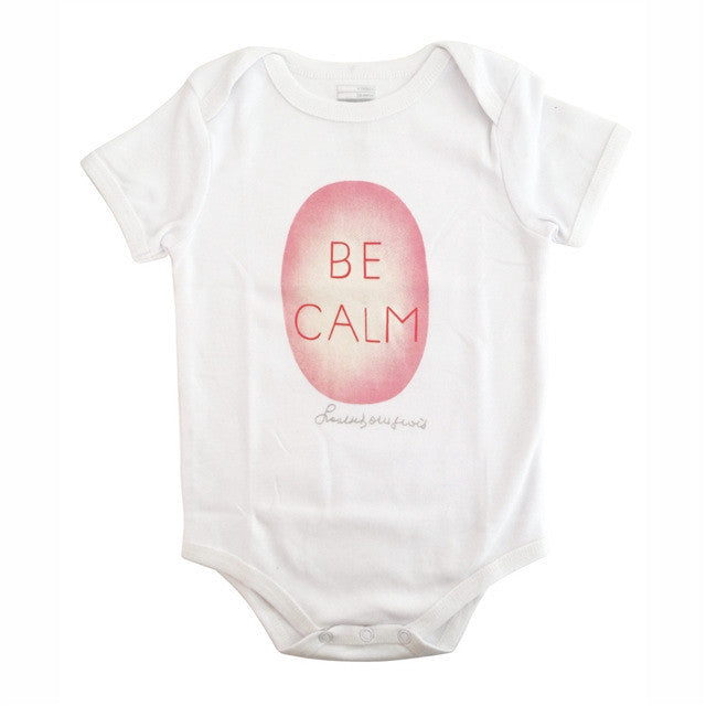 Be Calm Onesie by Louise Bourgeois