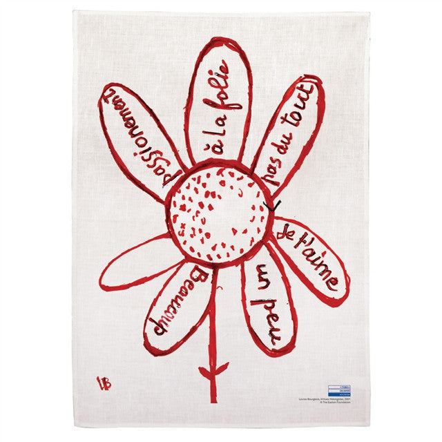 Tea Towel (Virtues) by Louise Bourgeois