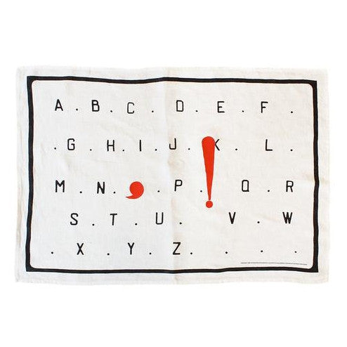 Kitchen Towel by Marcel Broodthaers