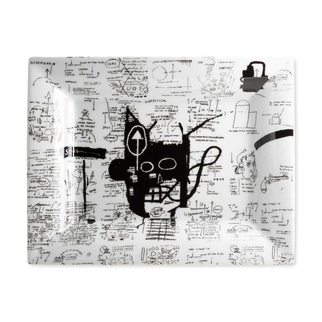 Return of the Central Figure Tray by Jean-Michel Basquiat
