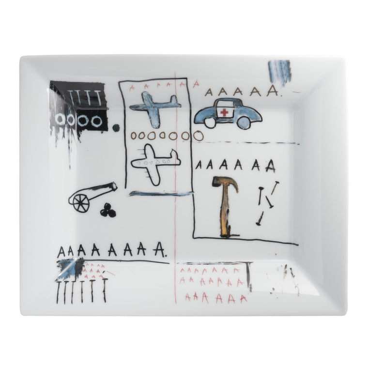 AAA Tray by Jean-Michel Basquiat