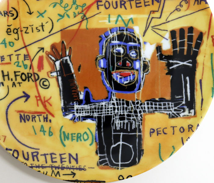All Colored Case Plate by Jean-Michel Basquiat