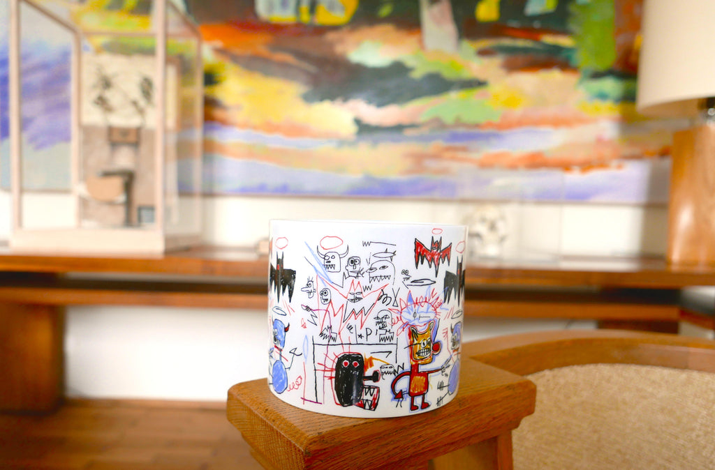 Batman Candle by Jean-Michel Basquiat
