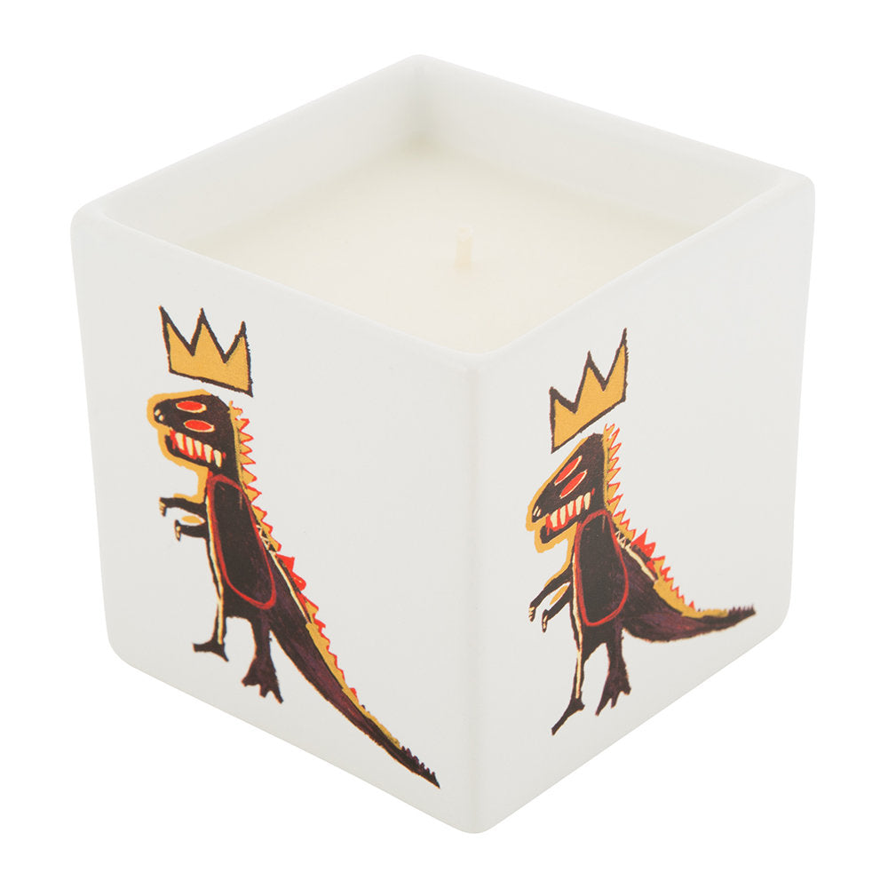 Golden Dragon Candle by Jean-Michel Basquiat