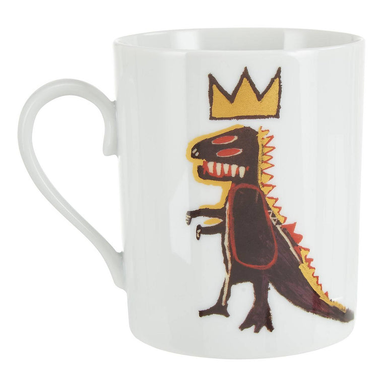 Gold Dragon Mug by Jean-Michel Basquiat
