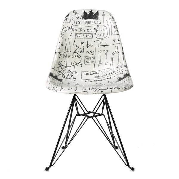 Jean-Michel Basquiat Case Study Furniture® Chair (Record)