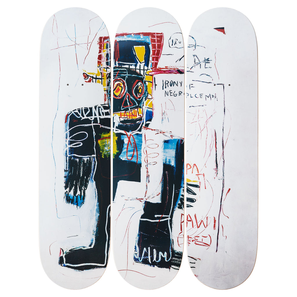 Irony of a Negro Policeman after Jean-Michel Basquiat