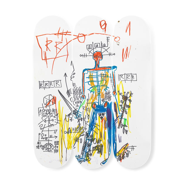 Robot by Jean-Michel Basquiat