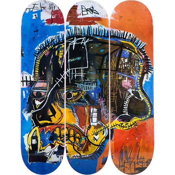 Skull by Jean-Michel Basquiat
