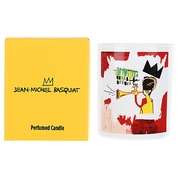 Trumpet Candle by Jean-Michel Basquiat