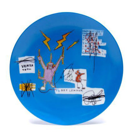 Venta Plate by Jean-Michel Basquiat