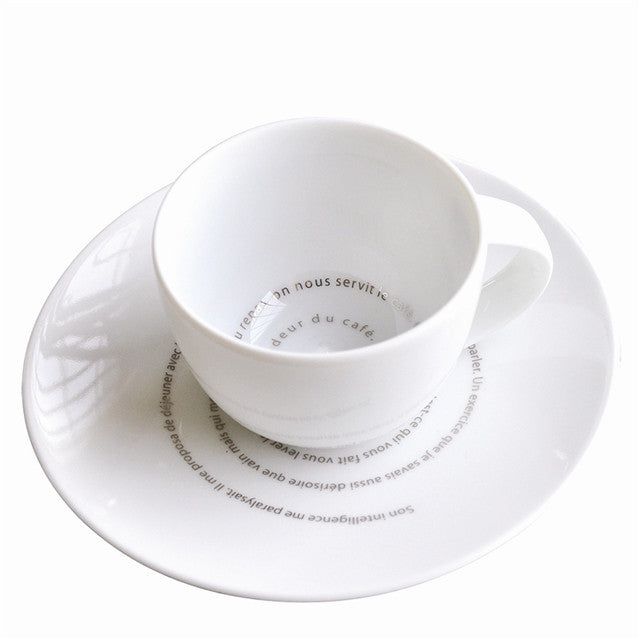 Espresso Cup Set by Sophie Calle