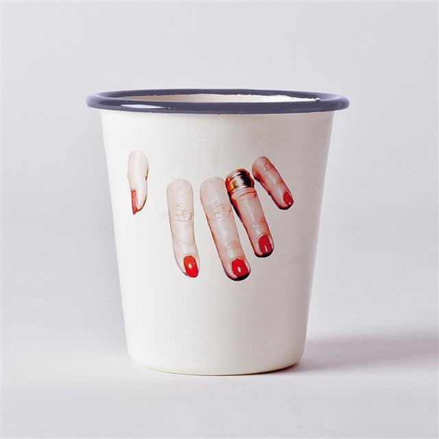 Cup Set by Maurizio Cattelan & Pierpaolo Ferrari