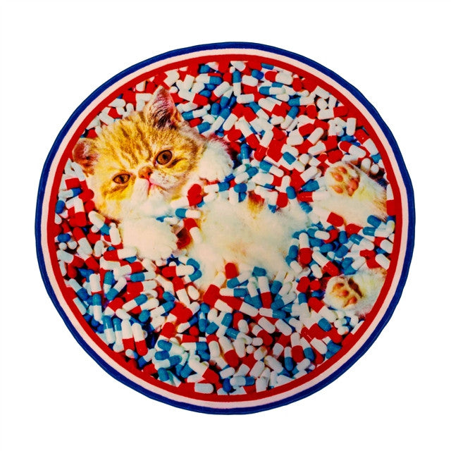 Cat Rug by Cattelan & Ferrari