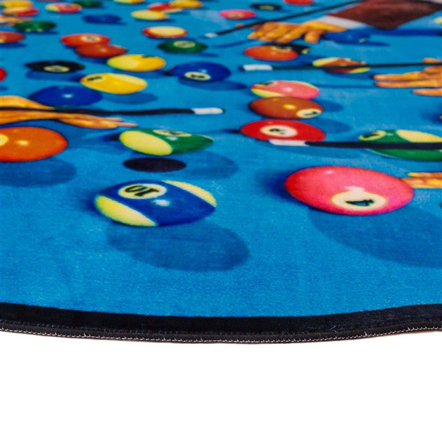 Eye and Mouth Rug by Cattelan & Ferrari