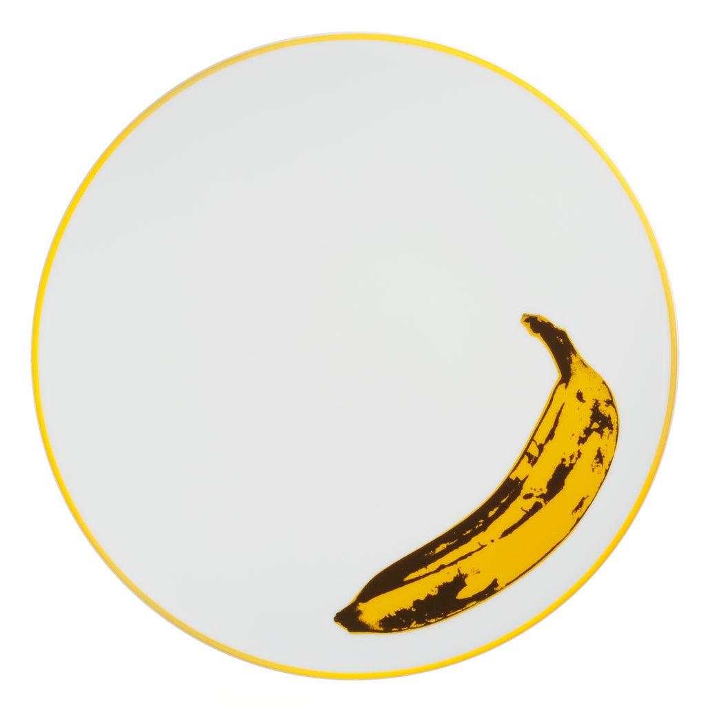 Banana Plate by Andy Warhol