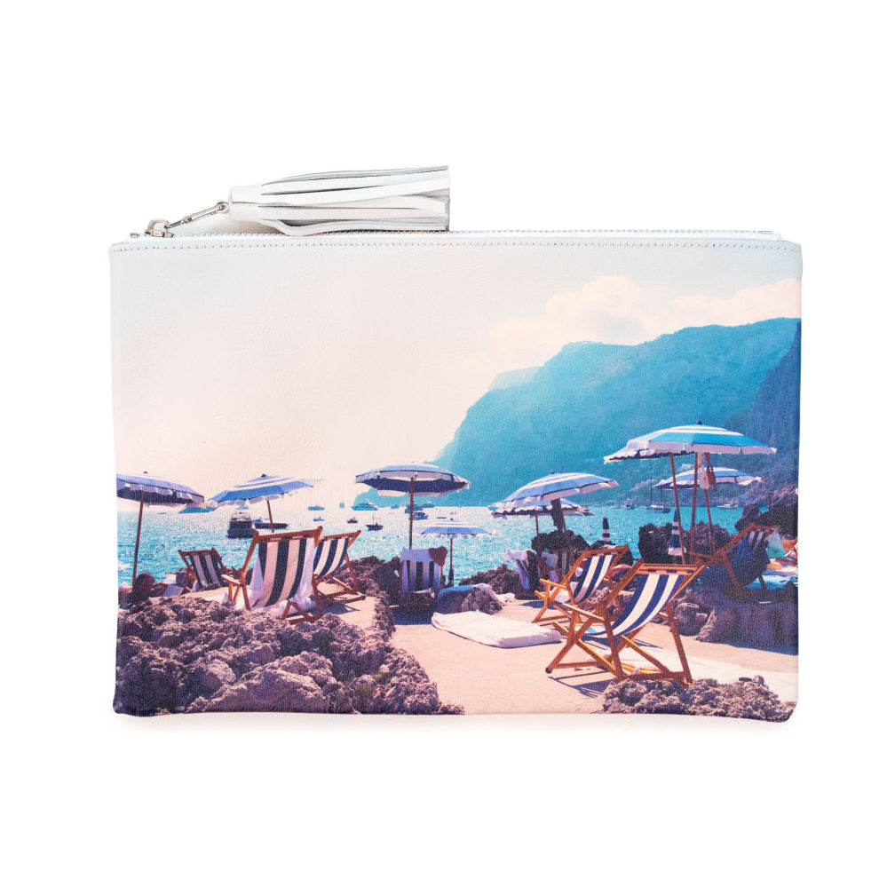 Capri Pouch by Gray Malin