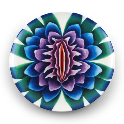 Sappho Plate by Judy Chicago