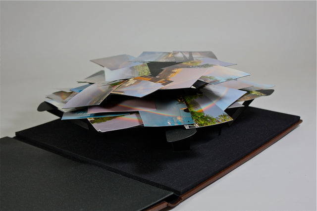Untitled (Spiral, Pop-Up Album) by Peter Coffin