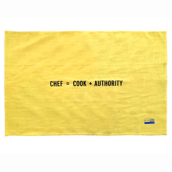Kitchen Towel (Chef) by Craig Damrauer