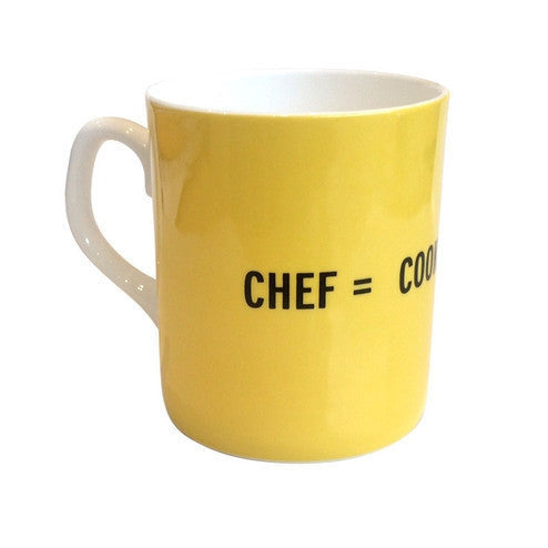 Chef Mug by Craig Damrauer