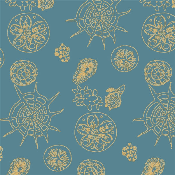 Telescopic wallpaper by Michele Oka Doner